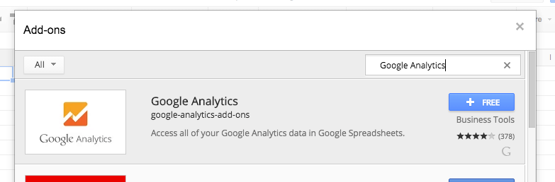 google-analytics-spreadsheet-add-on